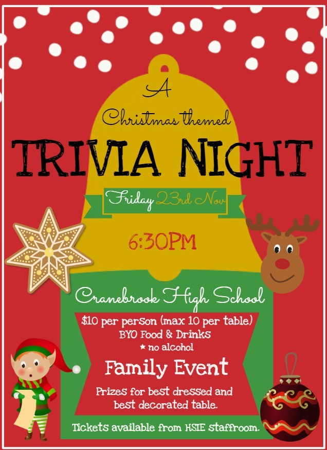 christmas trivia night